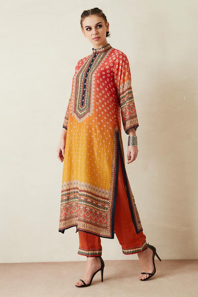 Ramin Silk Tunic & Paloma Pant Set
