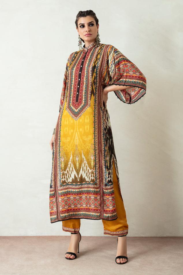 Gayatri Silk Tunic & Pant Set