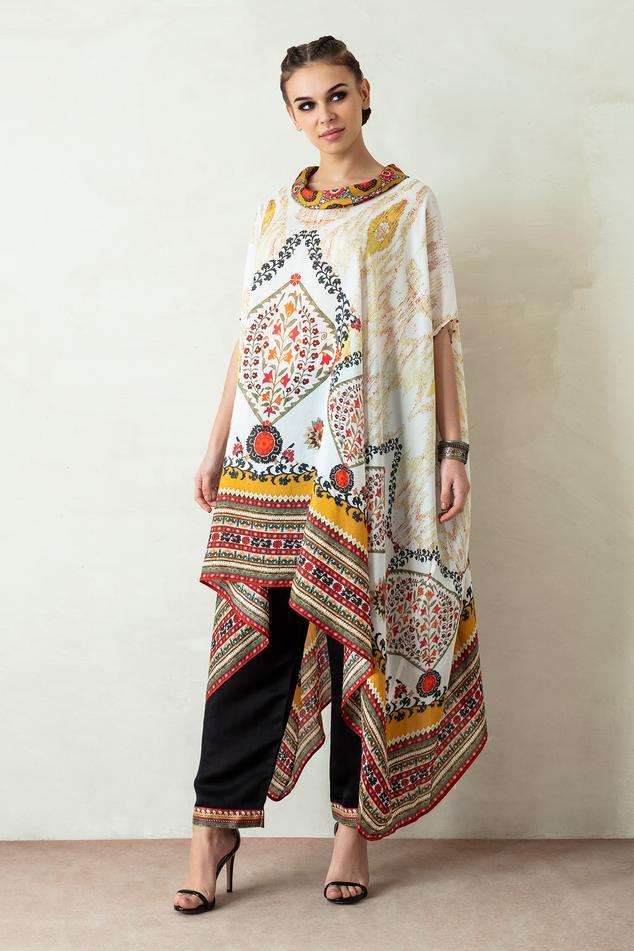 Lavanya Silk Tunic & Pant Set