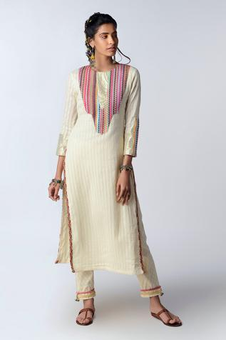 Organic Cotton Kurta Set