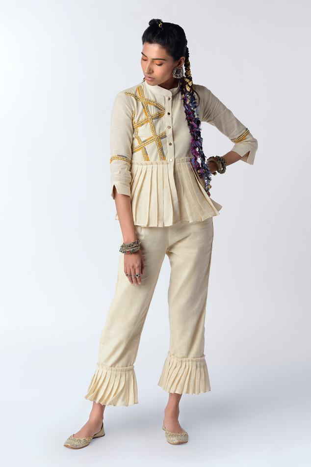 Organic Cotton Shirt with Pant