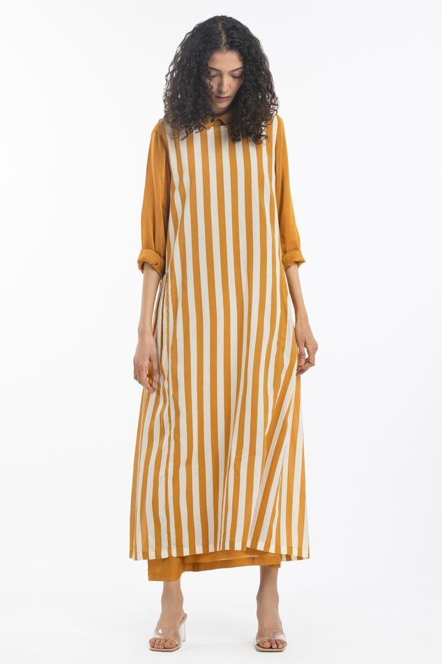 Striped Dress Set