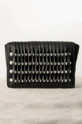 Beaded Clutch with Sling Strap