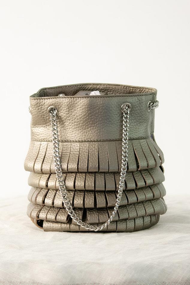 Layered Bucket Bag