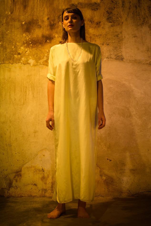 Cotton Silk Dress