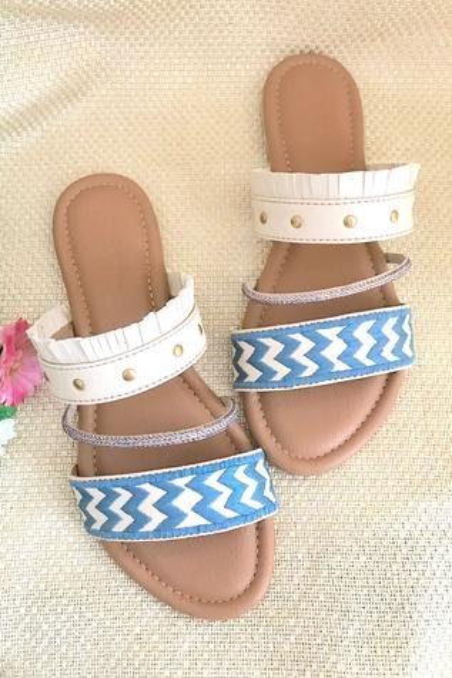 Fringe Strap Sandals