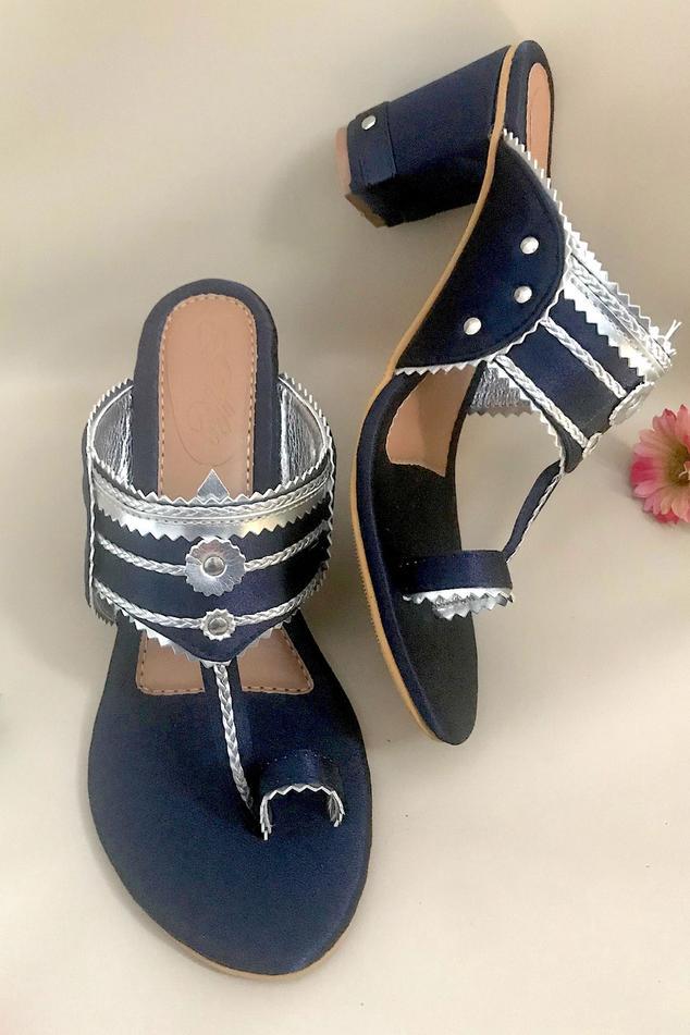 Kolhapuri Block Heels