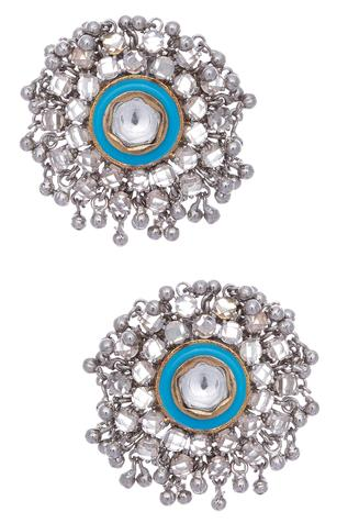 Ghungroo, kundan earrings