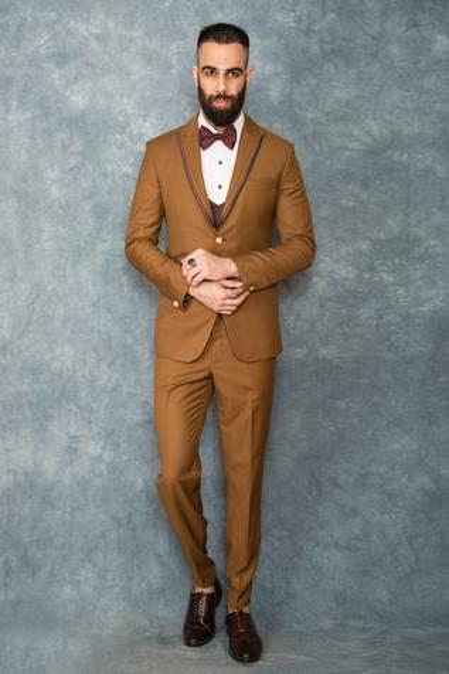 Suiting Tuxedo & Pant Set