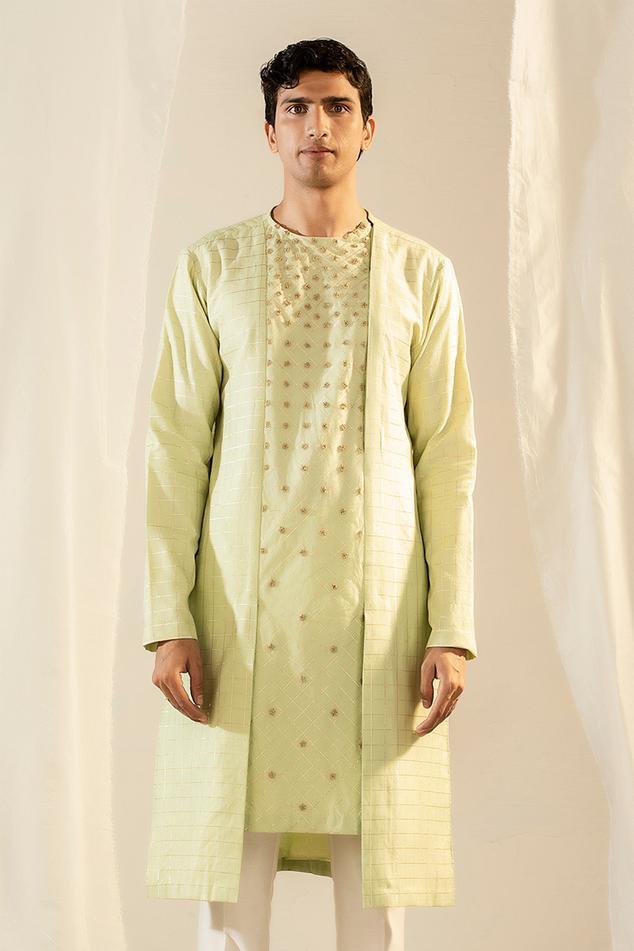 Handwoven Banarasi Silk Kurta