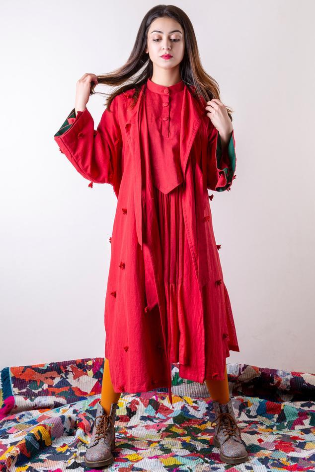 Hand Dye Embellished Jacket