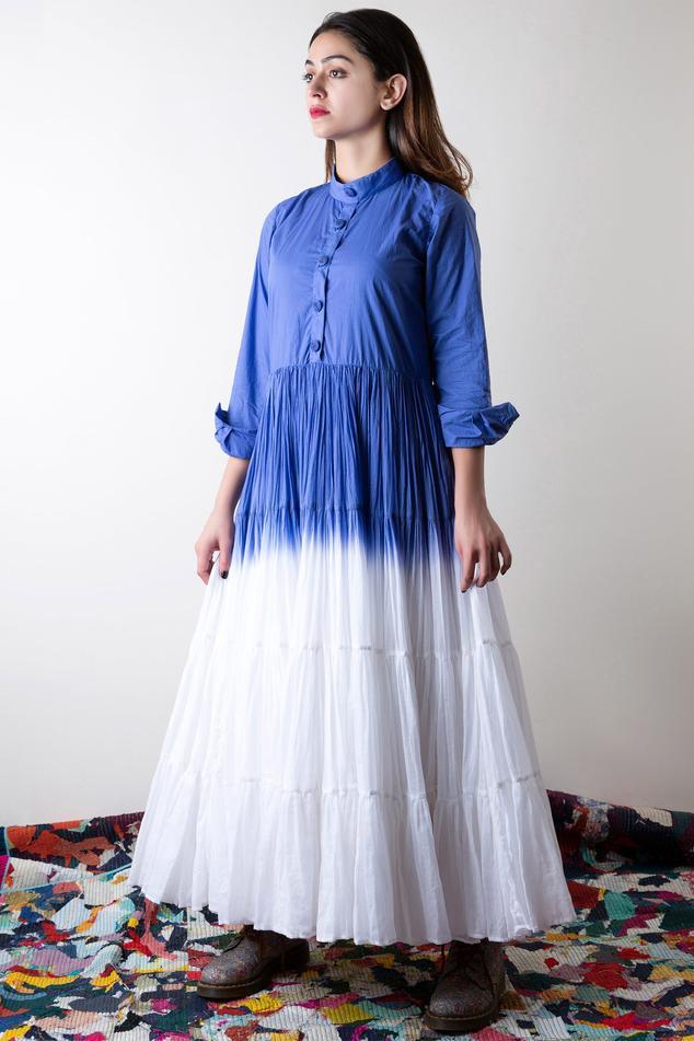 Dyed Maxi Dress