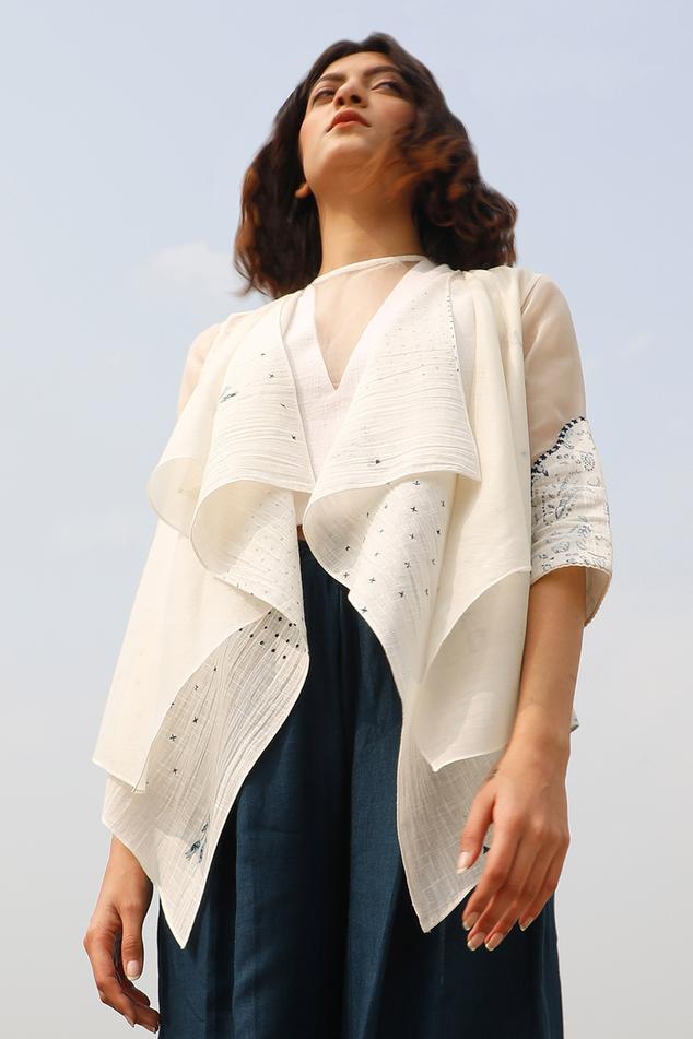 Organic Cotton Layered Jacket