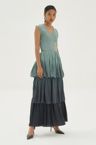 Layered Ombre Dress
