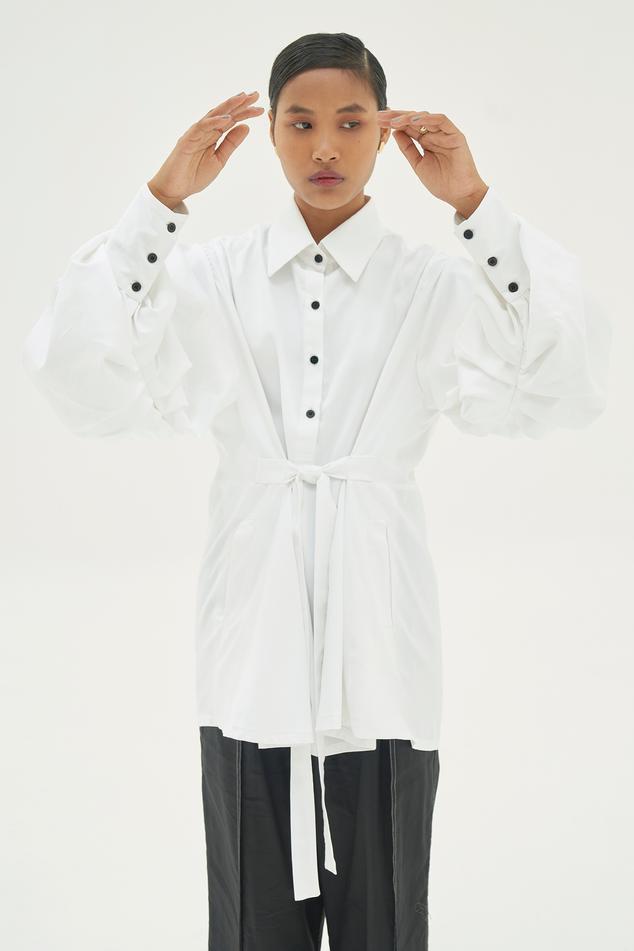 Cotton Tie-up Shirt