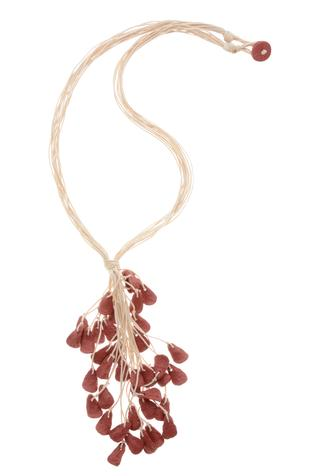 Biodegradable terracota necklace