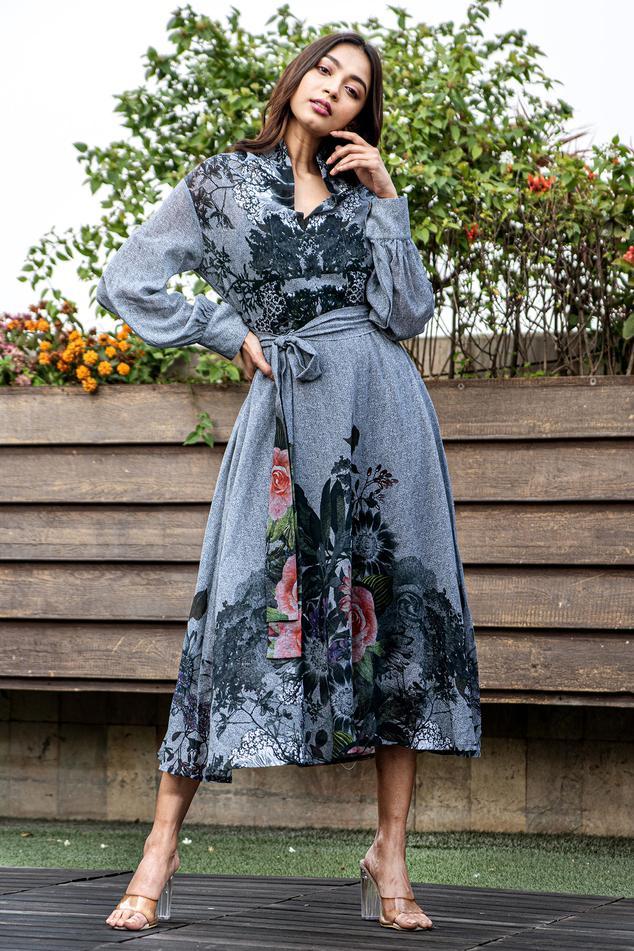 Organic Cotton Midi Dress