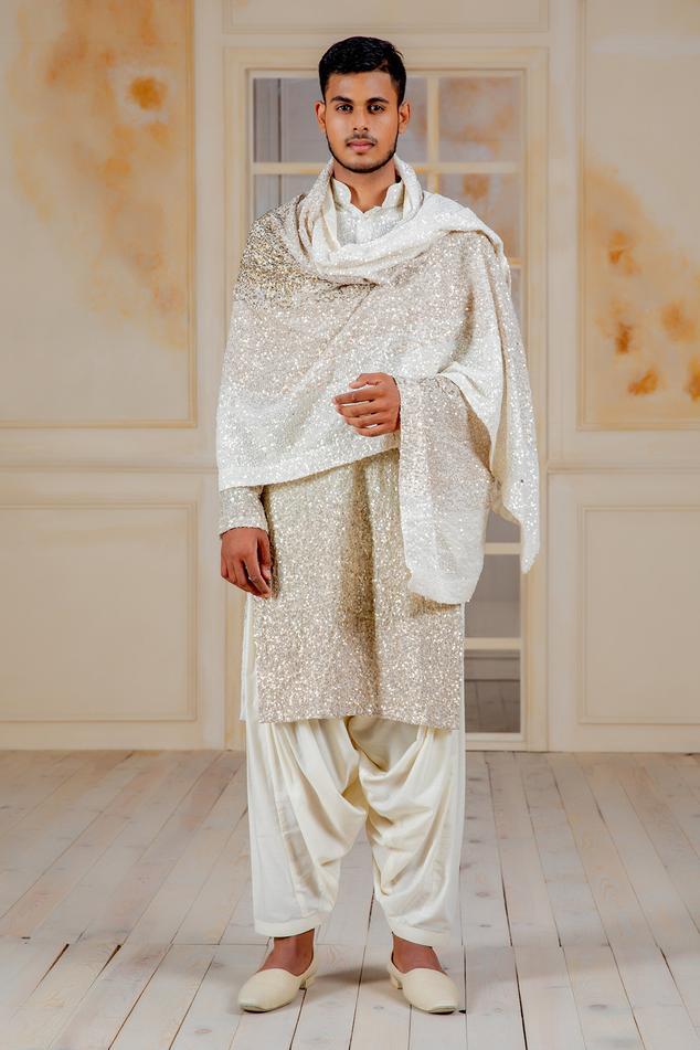 Sequin Embellished Dupatta