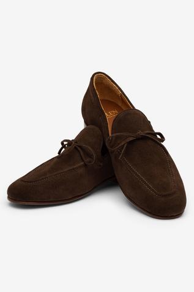 Tassel Suede Loafers