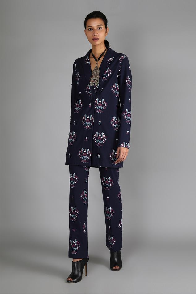 Printed Jacket & Pant Set