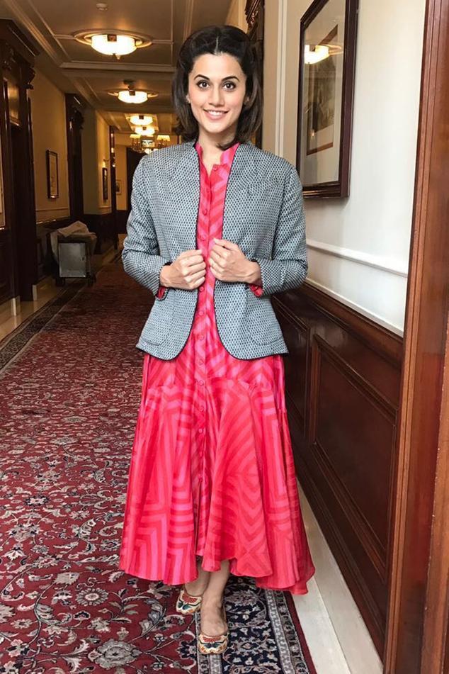 Shibori Flared Dress
