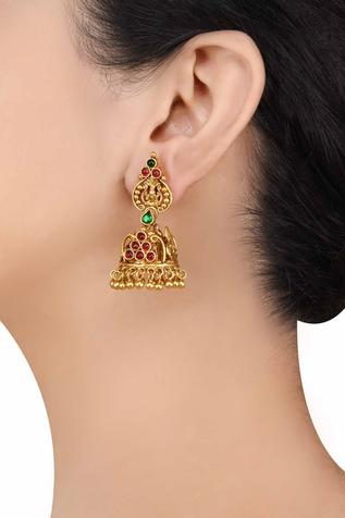 Handcrafted Temple Jhumkas