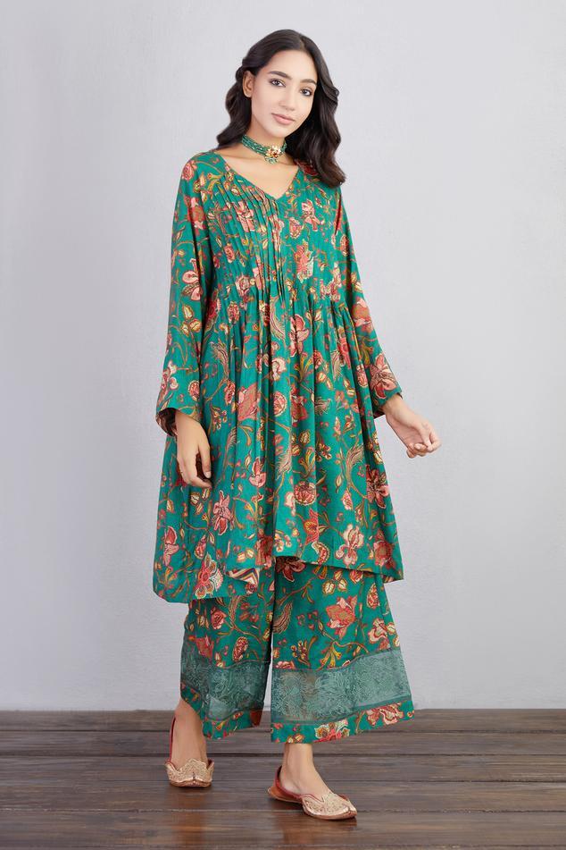 Sheesham Nazam Kurta & Pant Set