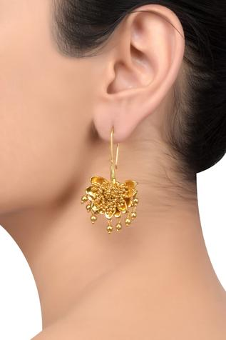 Handcrafted Floral Earrings