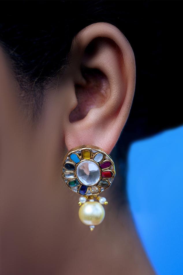 Navrattan Kundan Drops