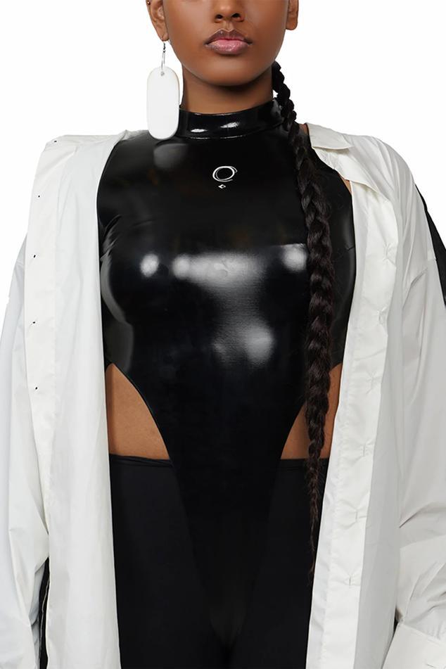 High-Neck Bodysuit