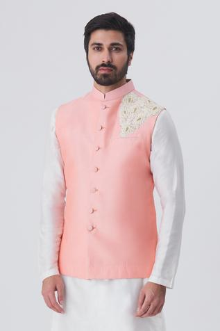 Embroidered Nehru Jacket