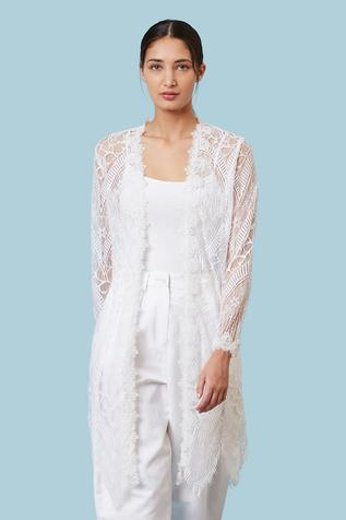 Lace Sheer Cape