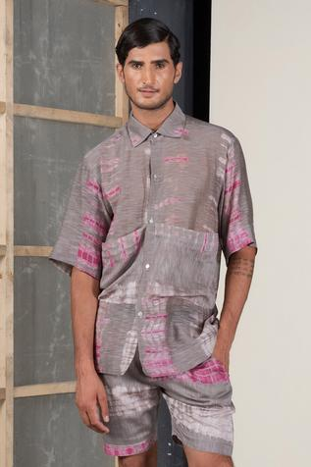 Chanderi Silk Shirt