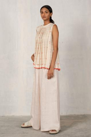 Linen Flared Pant