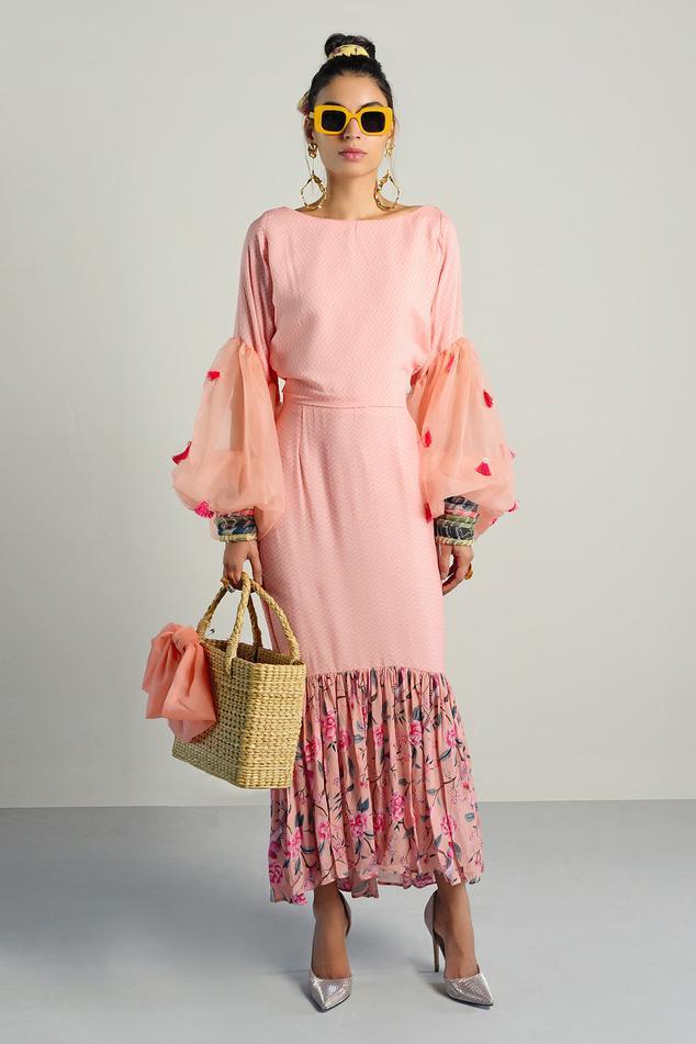 Printed Skirt Set