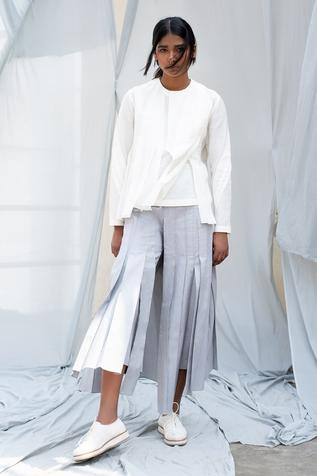 Pleated Culottes