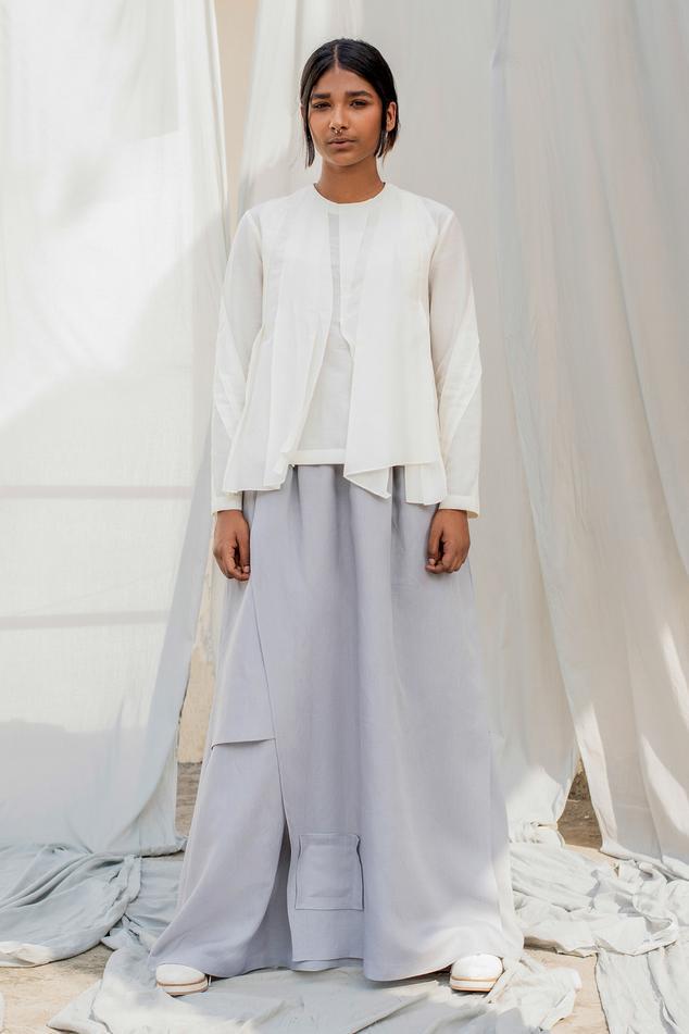 Linen Overlay Pant