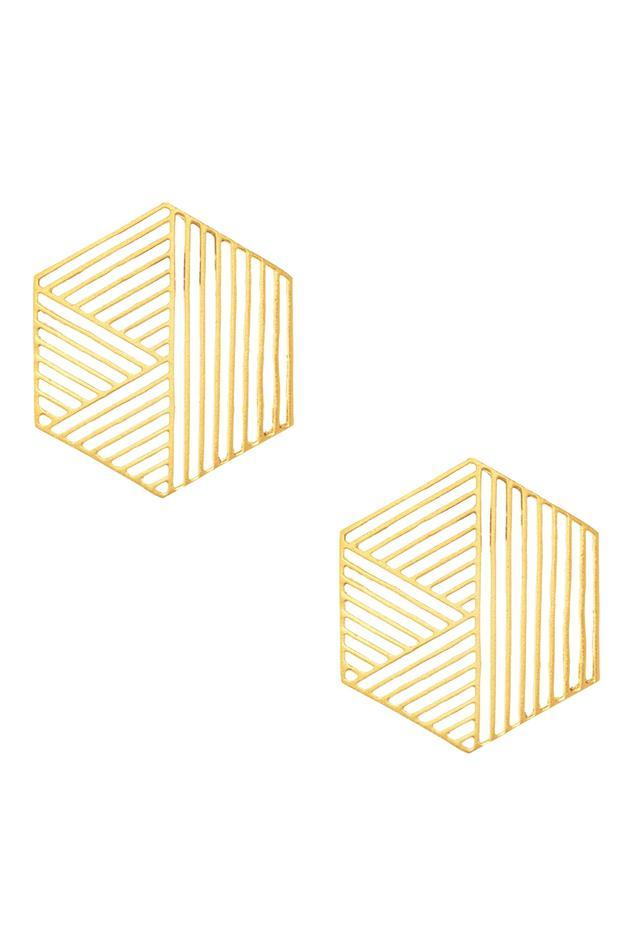 Geometric Stud Earrings