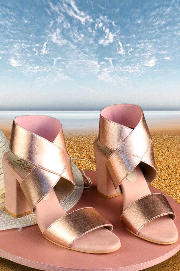 Zanzibar Bandage Block Heels