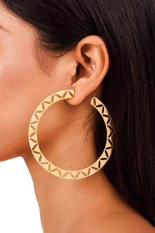 Handcrafted Cutwork Hoops
