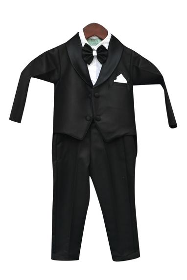Lapel Collar Tux With Pant & Shirt