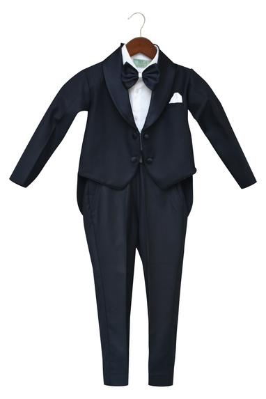 Midnight blue Tuxedo Set