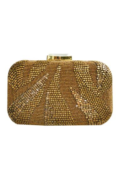 Bead Embroidered Clutch