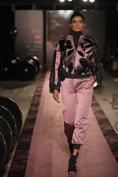 Floral jacket with pants