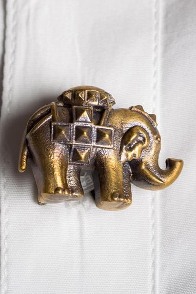 Antique Elephant Buttons