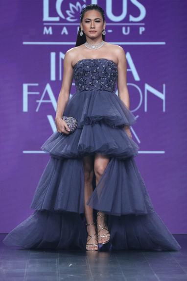 Layered Tube Gown