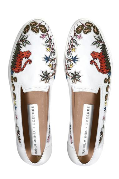 Embroidered Loafers