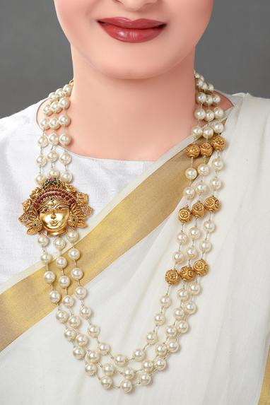 Bead Layered Necklace