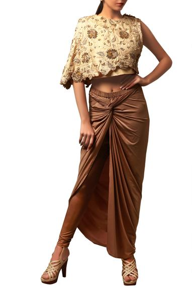 Knotted Skirt Set