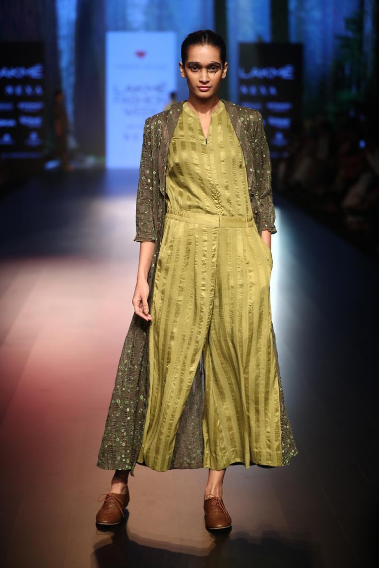 Handwoven Silk Jumpsuit